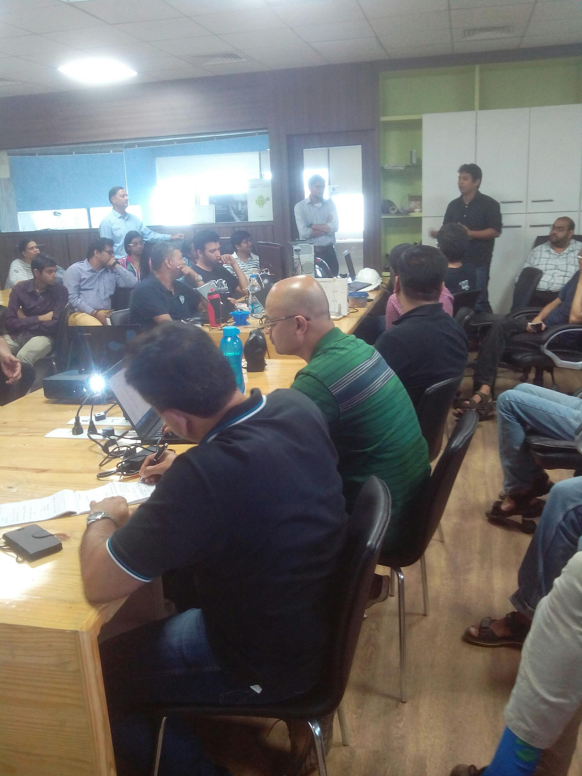 Intel IOT Meetup in Pune