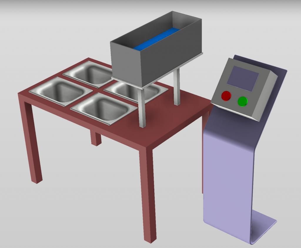Project CAD model