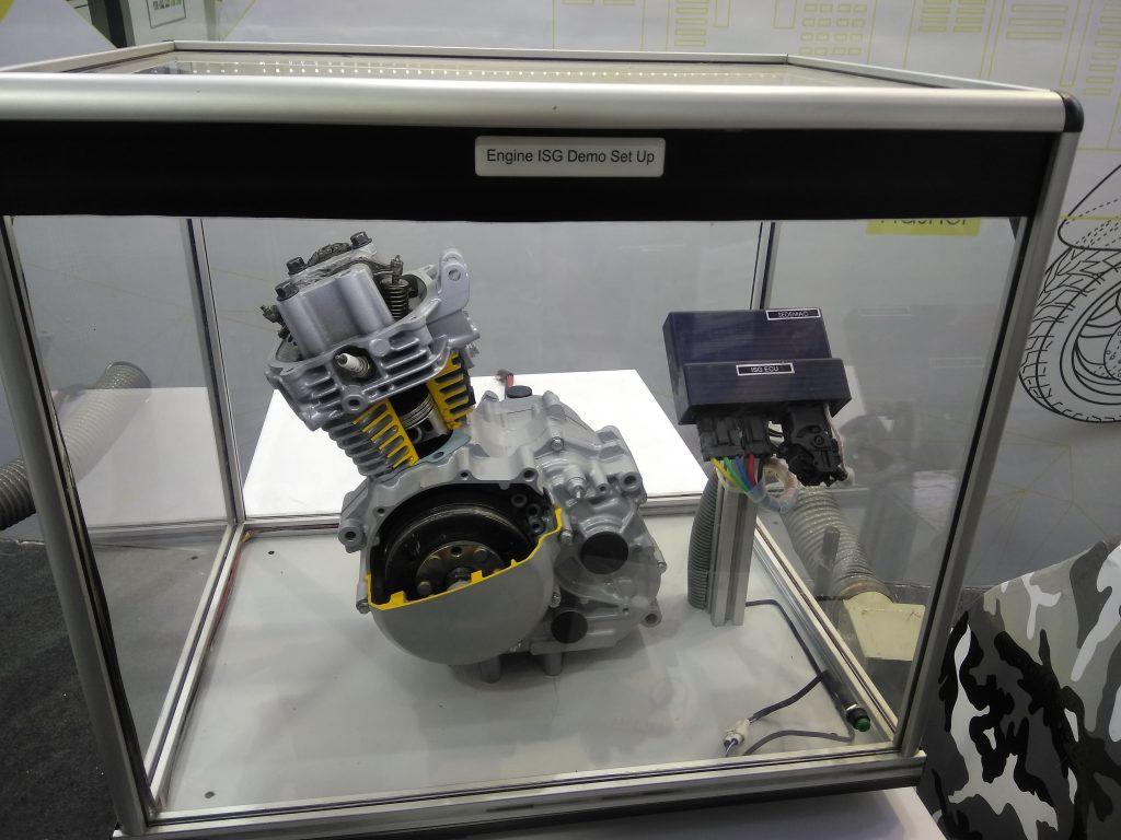 Engine ISG Demo Set Up