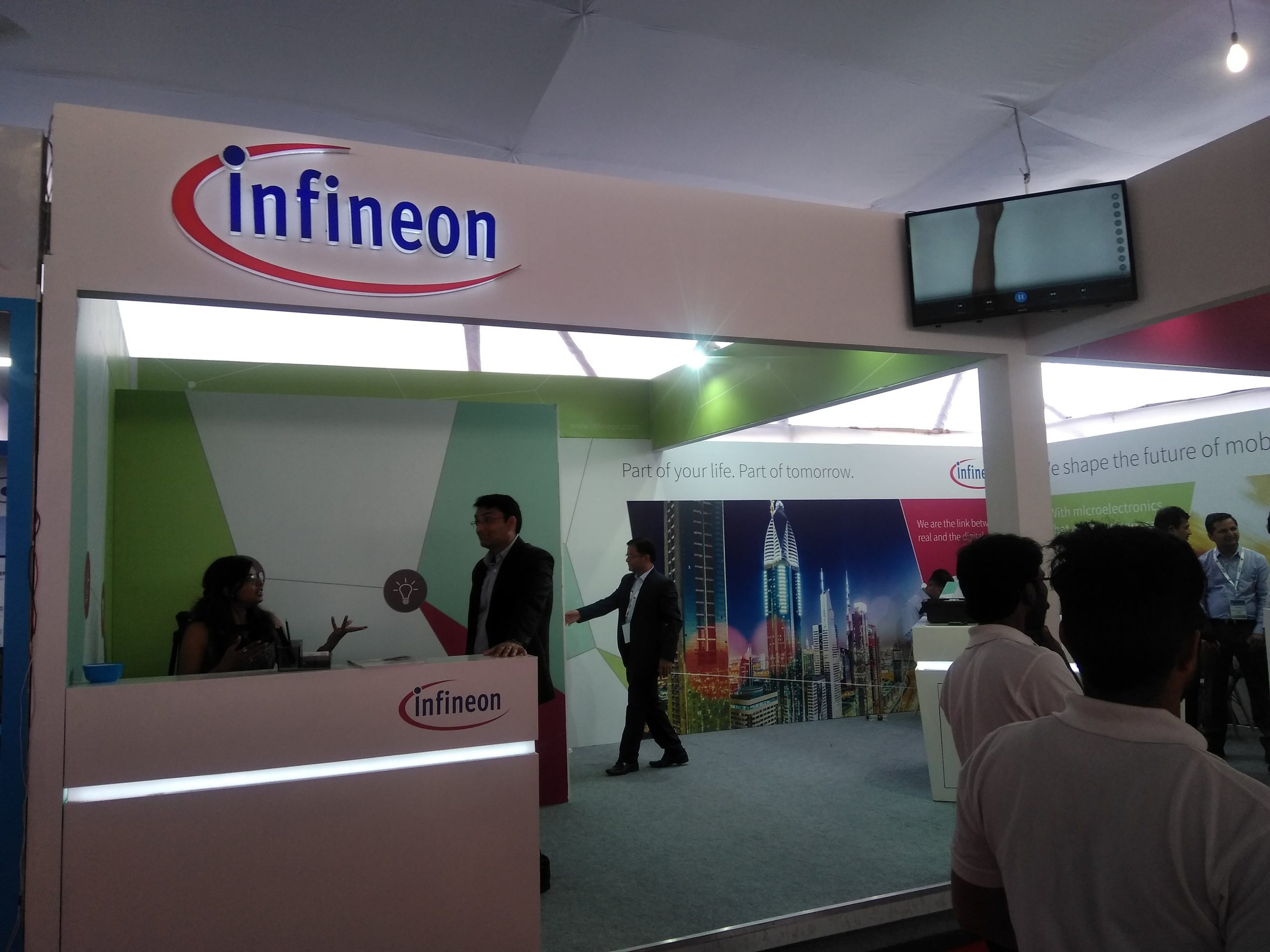 Infineon Booth